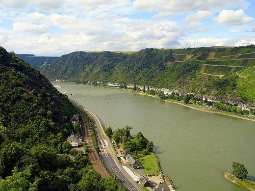 Rhine Cycle Route