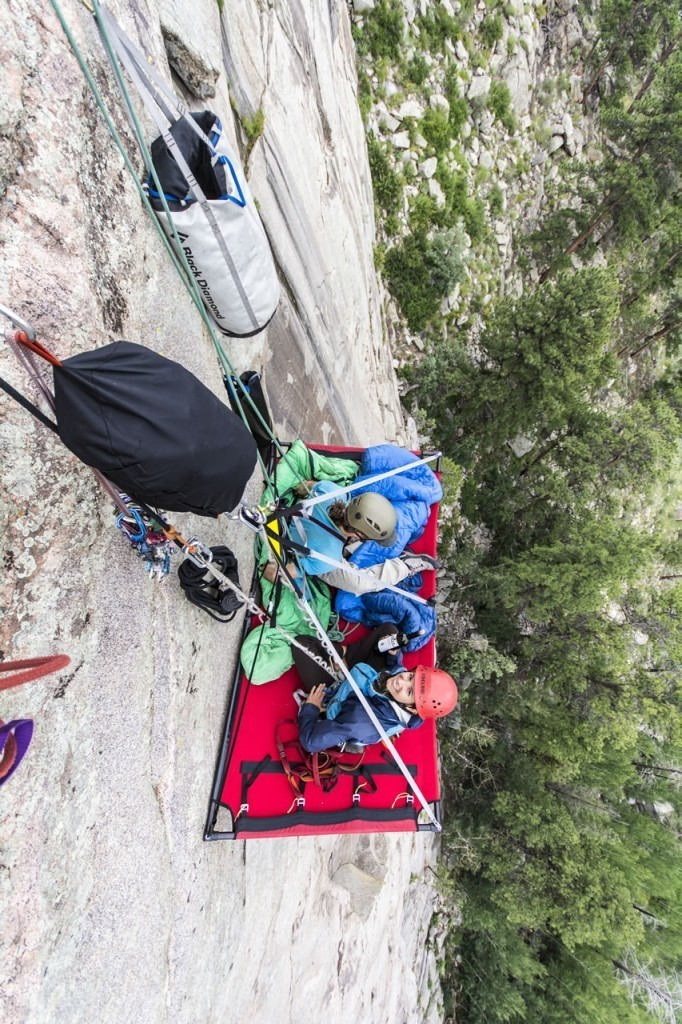 cliff face camping kent mountain 02