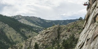 Experience Extreme Cliff-Face Camping With Kent Mountain, Colorado