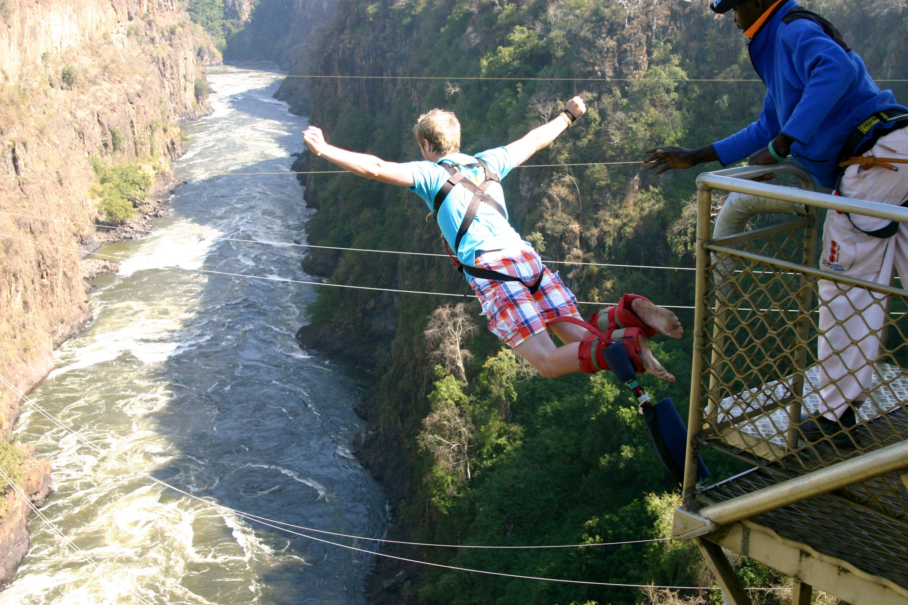 Rsi bungee jumping strategy
