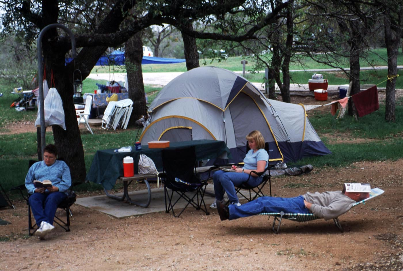 Texas' Wonderful Camping Sites • Travel Tips