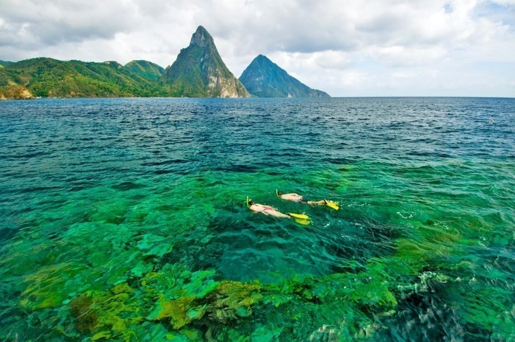 scuba diving saint lucia
