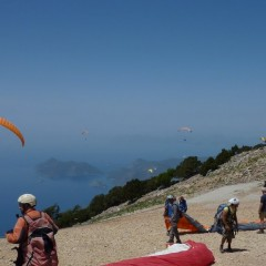 Paragliding From Babadag Mountain, Turkey