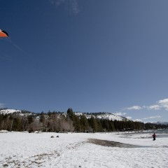 Snow Kiting In Colorado