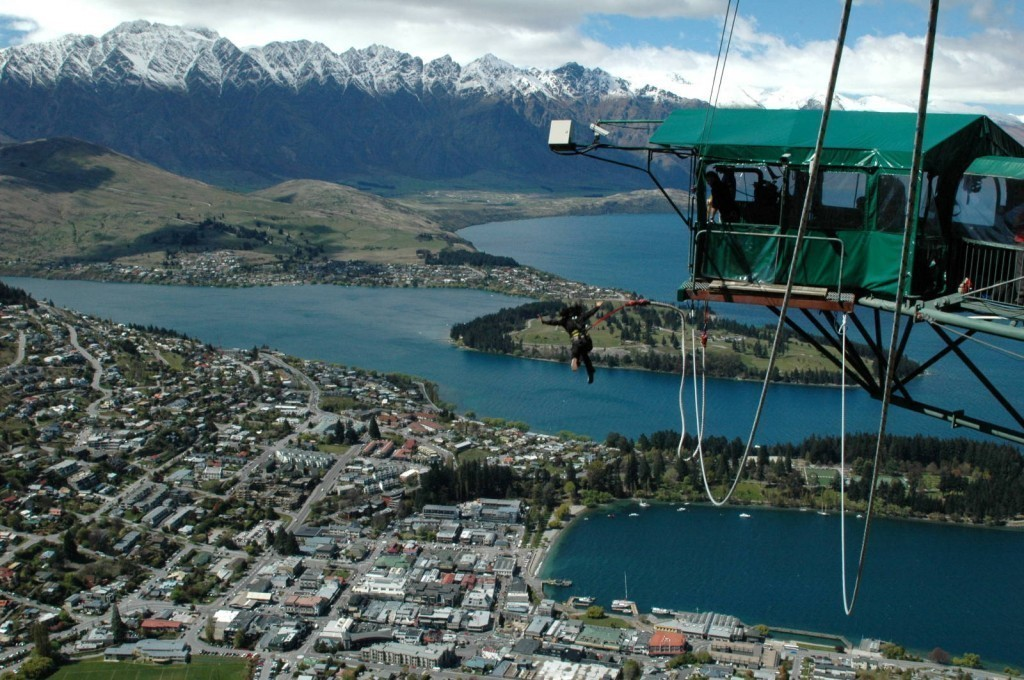 New Zealand Bungee Jumping South Island