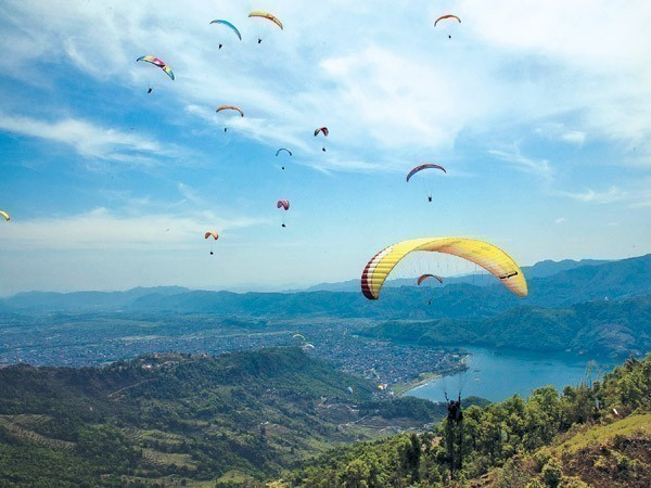 Paragliding In Pokhara 3