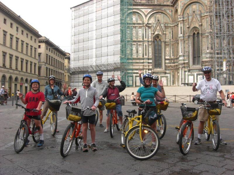 Florence Bike Tour – Tuscan Food Tasting