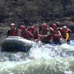 Whitewater Rafting In Victoria Falls