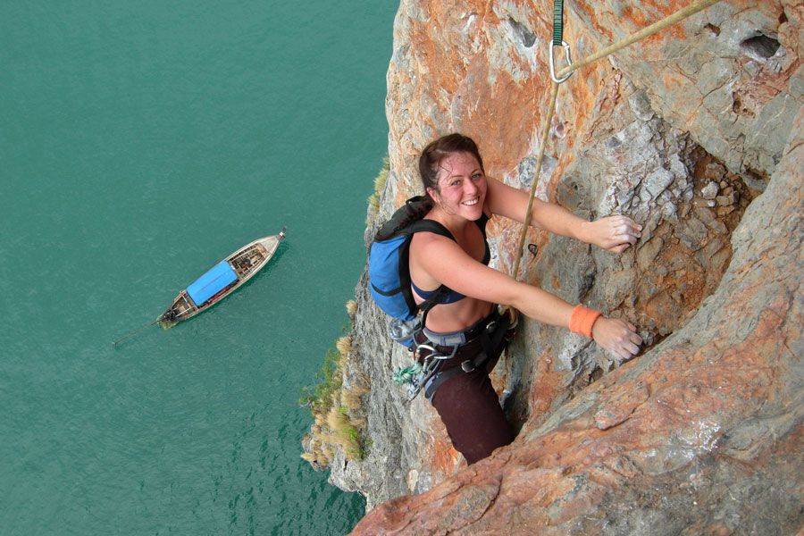Crete Rock Climbing