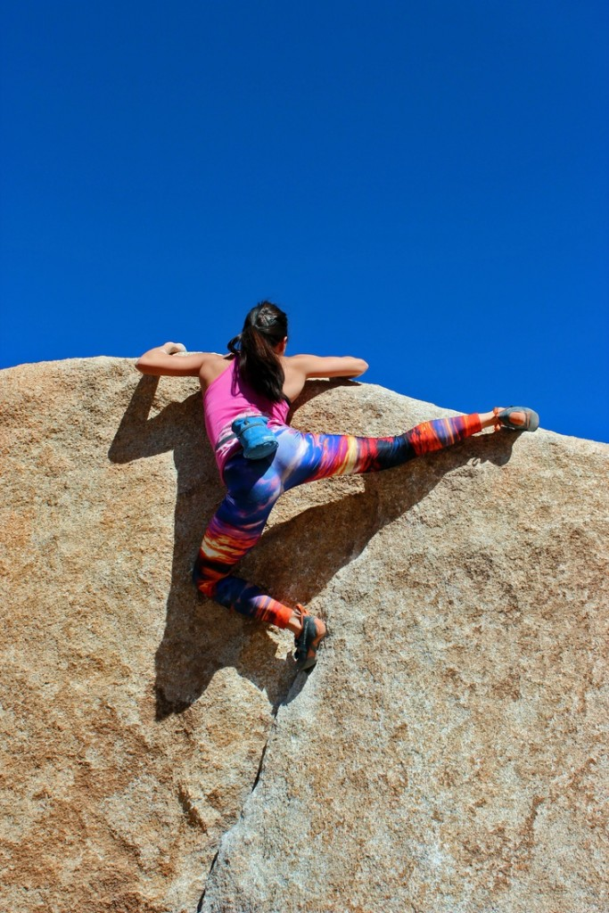Joshua Tree National Park rock climbing