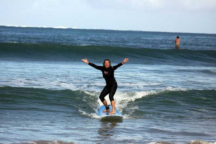 Surfing In Kauai 02