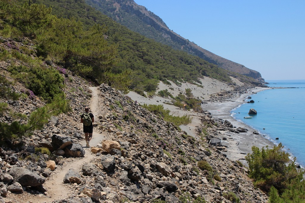 Elia Beach To Agios Pavlos