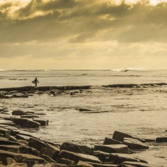 Learning To Surf In Dorset, England