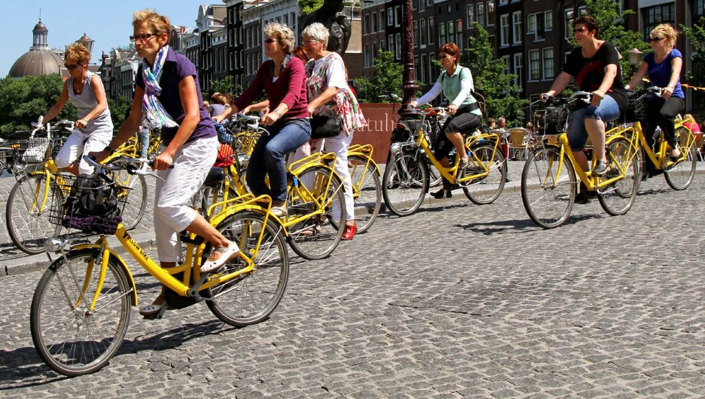 Cycling In Amsterdam