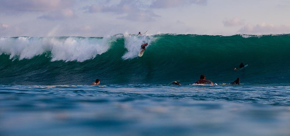 Uluwatu Surfing