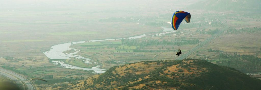 Paragliding In Nandi Hills, India
