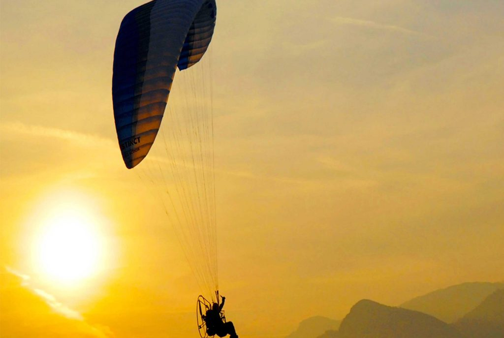 Paragliding In Rajasthan, India