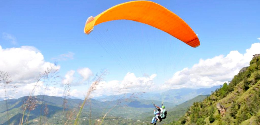 Paragliding In Ranikhet, India