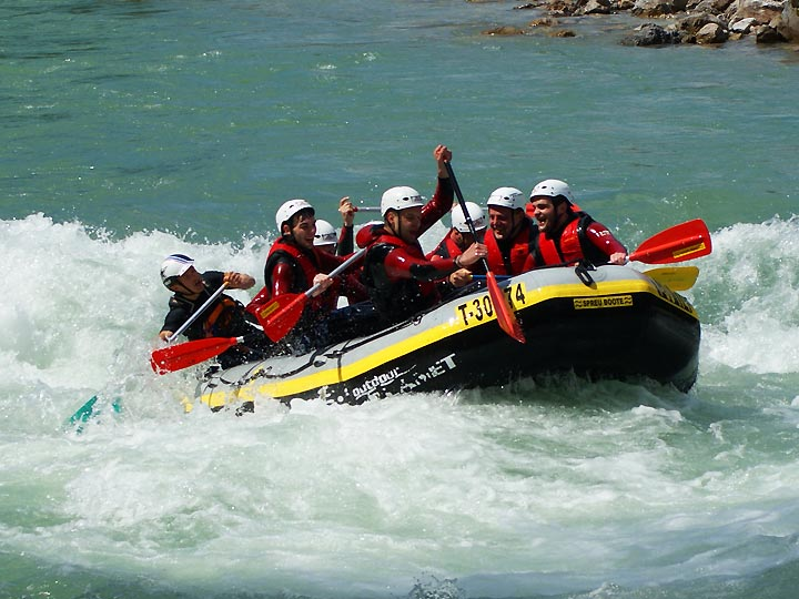 White Water Rafting In Austria