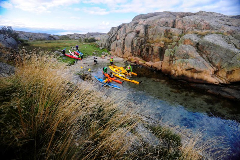 Canoeing And Rafting In Sweden