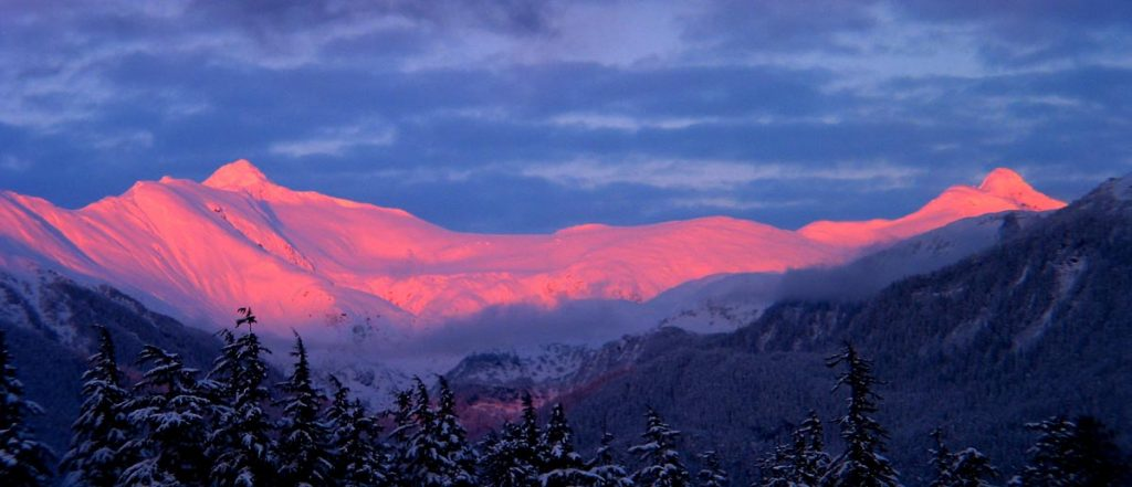 Observing Alpenglow In Alaska