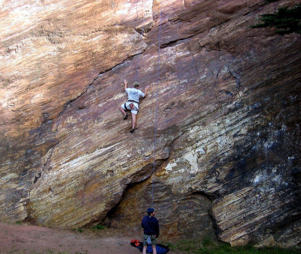 Rock Climbing Glen Canyon, San Francisco
