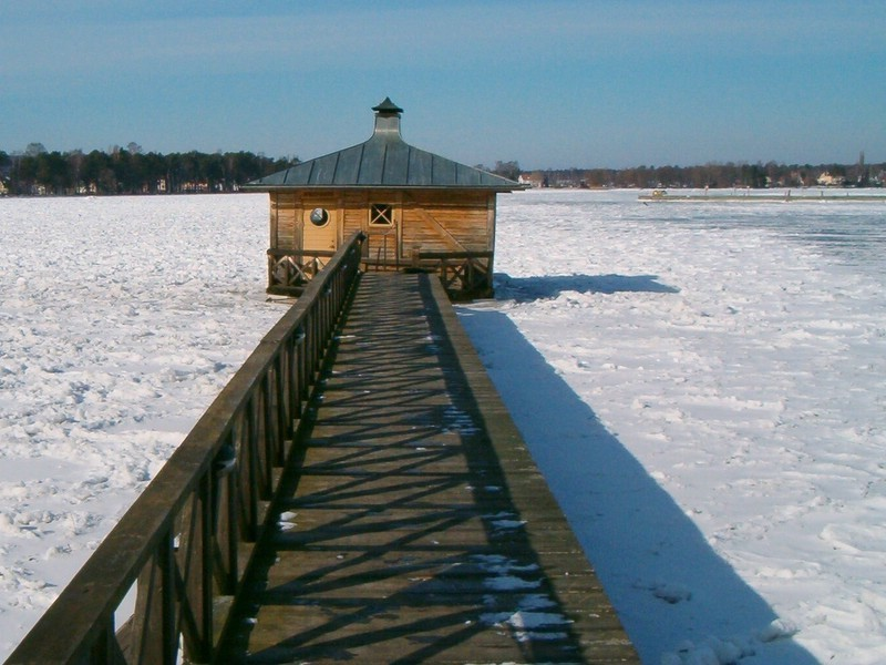 Saunas And Swimming Lakes In Sweden