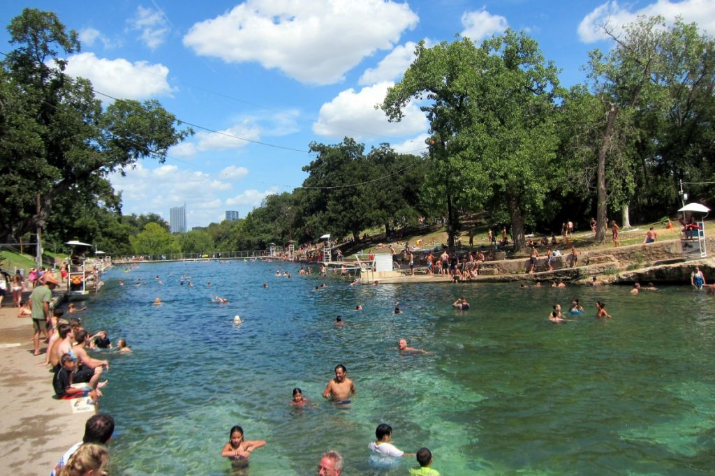 swimming-at-barton-springs-pool