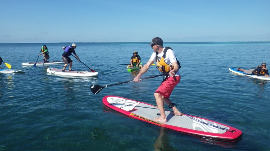 Stand-Up Paddleboarding & Water Sports In Belize