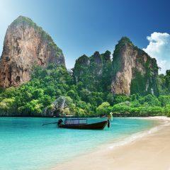 Caving And Other  Exploring Activities On Ko Lanta, Thailand