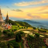 Cycling Routes Around Chiang Mai, Thailand