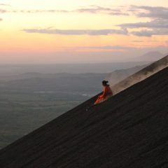 What To Expect When Volcano Boarding In Nicaragua