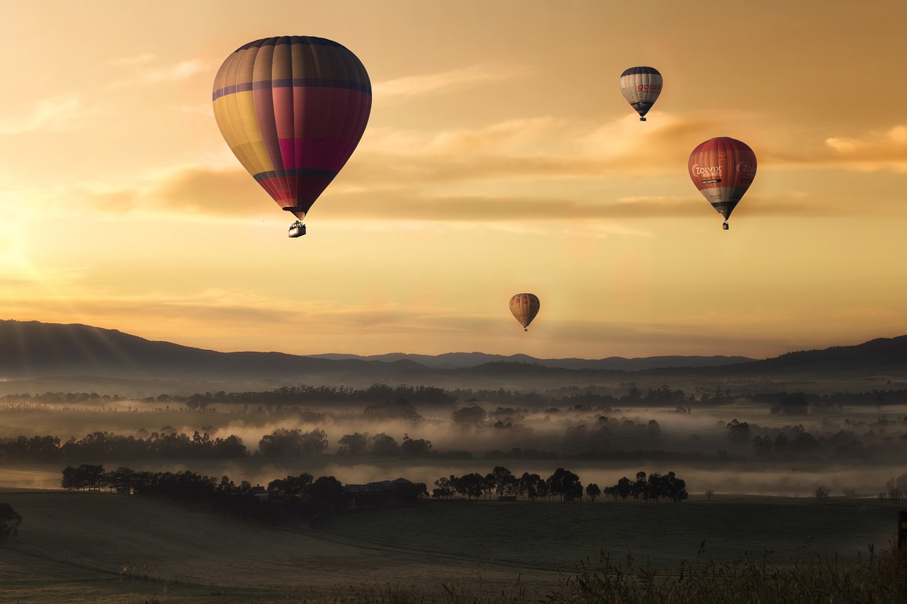 The 7 Very Best Cities For A Hot Air Balloon Ride